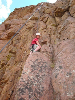 Rock Climbing with RMOC or Rock n Row - Maybe you've been in a gym, and would like to learn about climbing outdoors. Well, this is the class for you.  From Ski Town Condos RMOC is 18 miles; and Rock n Row is 42 miles.