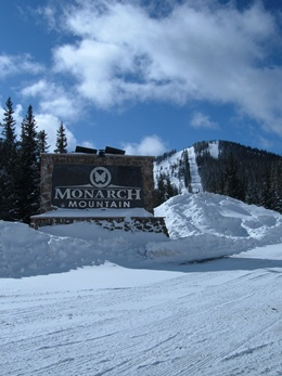 Monarch Mountain is only 3 miles from Ski Town Condos with abundant natural snow (350+ inches) and friendly people.