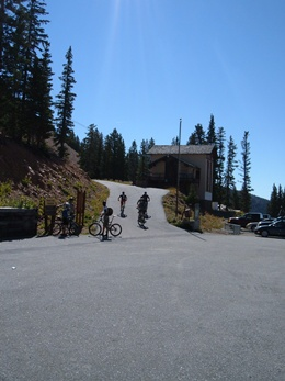 Monarch Crest Trail Head - rated the best mountain bike trail in Chaffee County, 6 miles from Ski Town Condos.