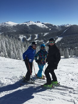 Making family traditions at Ski Town Condos - Skiing Monarch Mountain