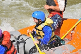 Rafting the Arkansas River - Make Colorado getaways memorable with Ski Town Condos family packages.
