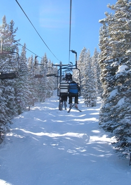 Monarch Mountain -Abundant natural snow (350+ inches) and friendly people.  Only 3 miles from Ski Town Condos.