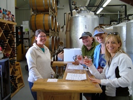 Mountain Spirit Winery wine tasting, only 7 miles from Ski Town Condos.