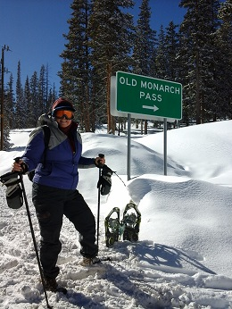 Snowshoe Old Monarch Pass