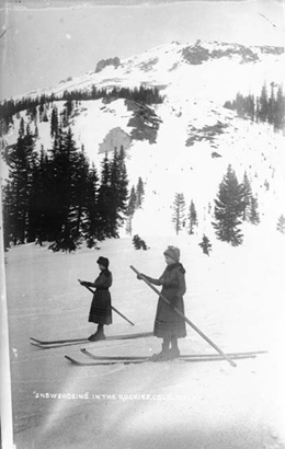 Pre-Monarch days, locals skied on Monarch and Marshall passes before the advent of the Monarch ski area in 1939.